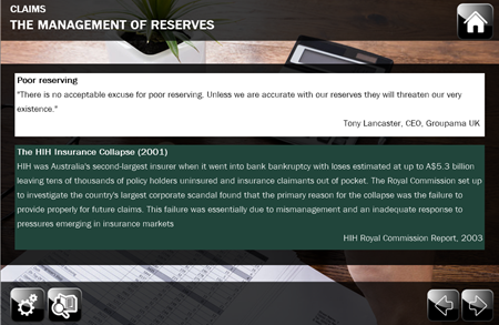 Claims Reserves